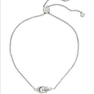 NWT Coach Interlocking Signature C Slider Bracelet